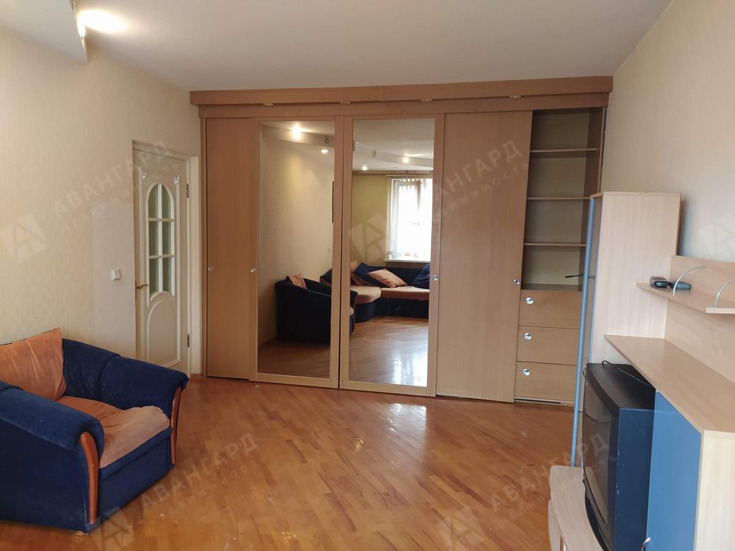 1-комнатная квартира, Камышовая, д.46к1 - фото 1