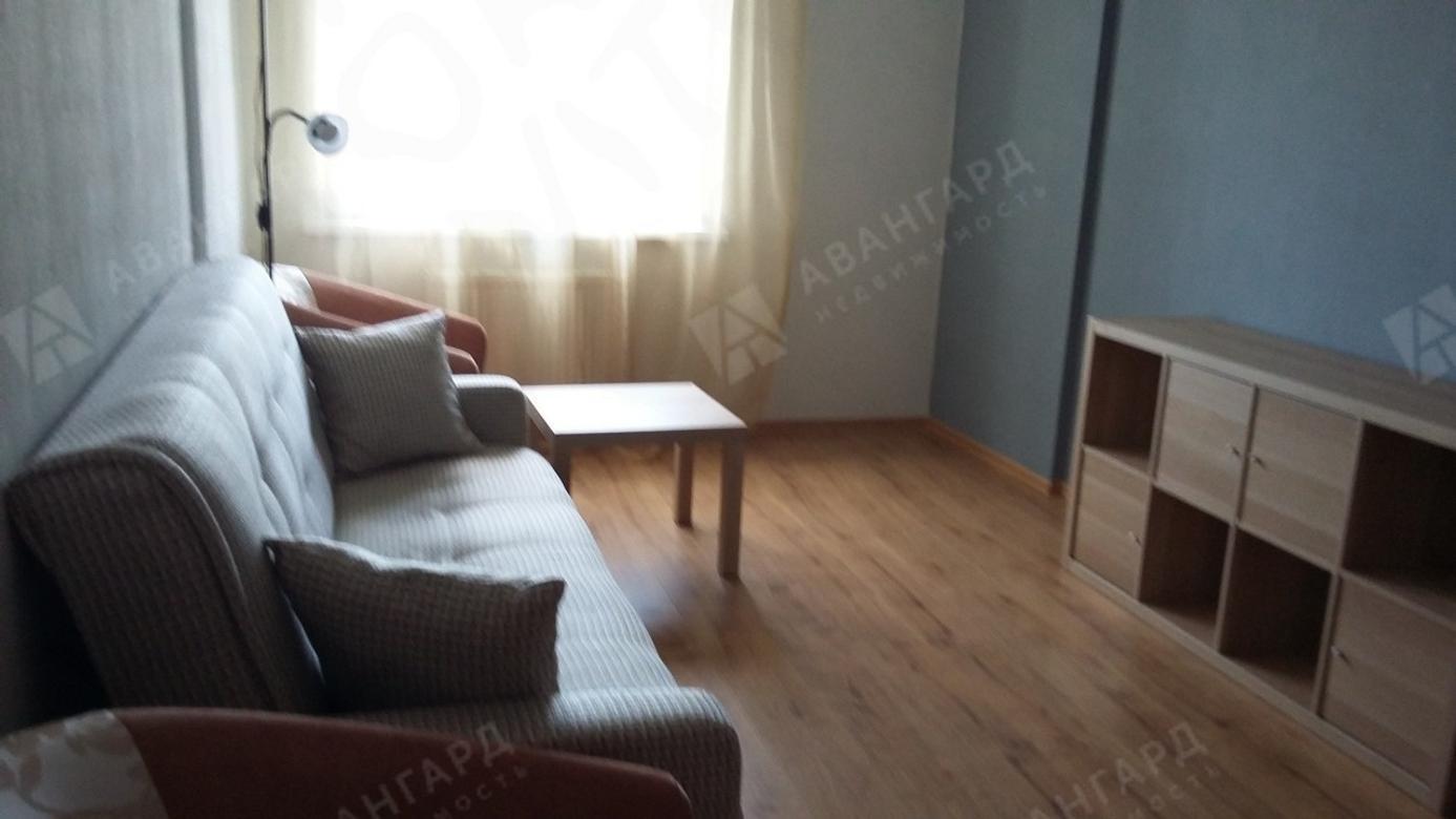 1-комнатная квартира, Вадима Шефнера ул, 12 к.1 - фото 2