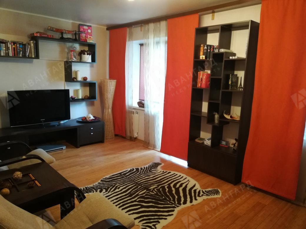 1-комнатная квартира, Коллонтай ул, 19к3 - фото 2
