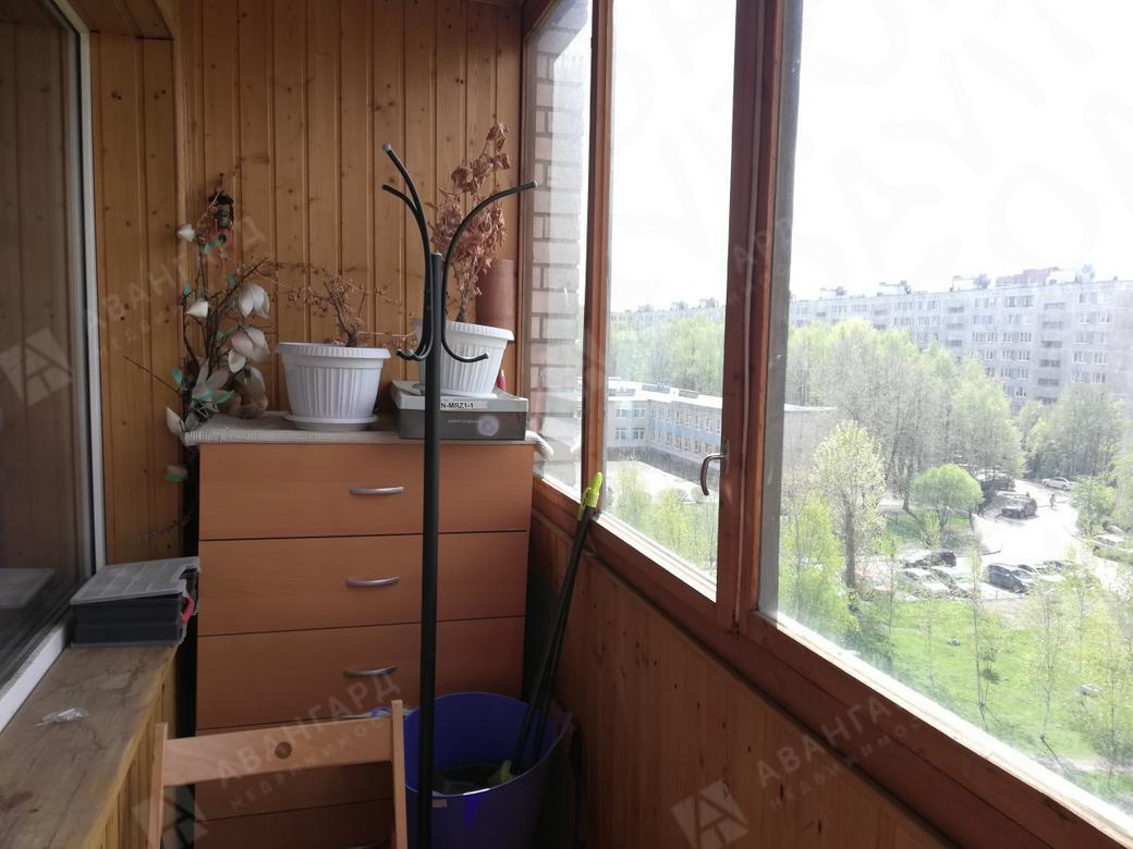 1-комнатная квартира, Коллонтай ул, 19к3 - фото 11