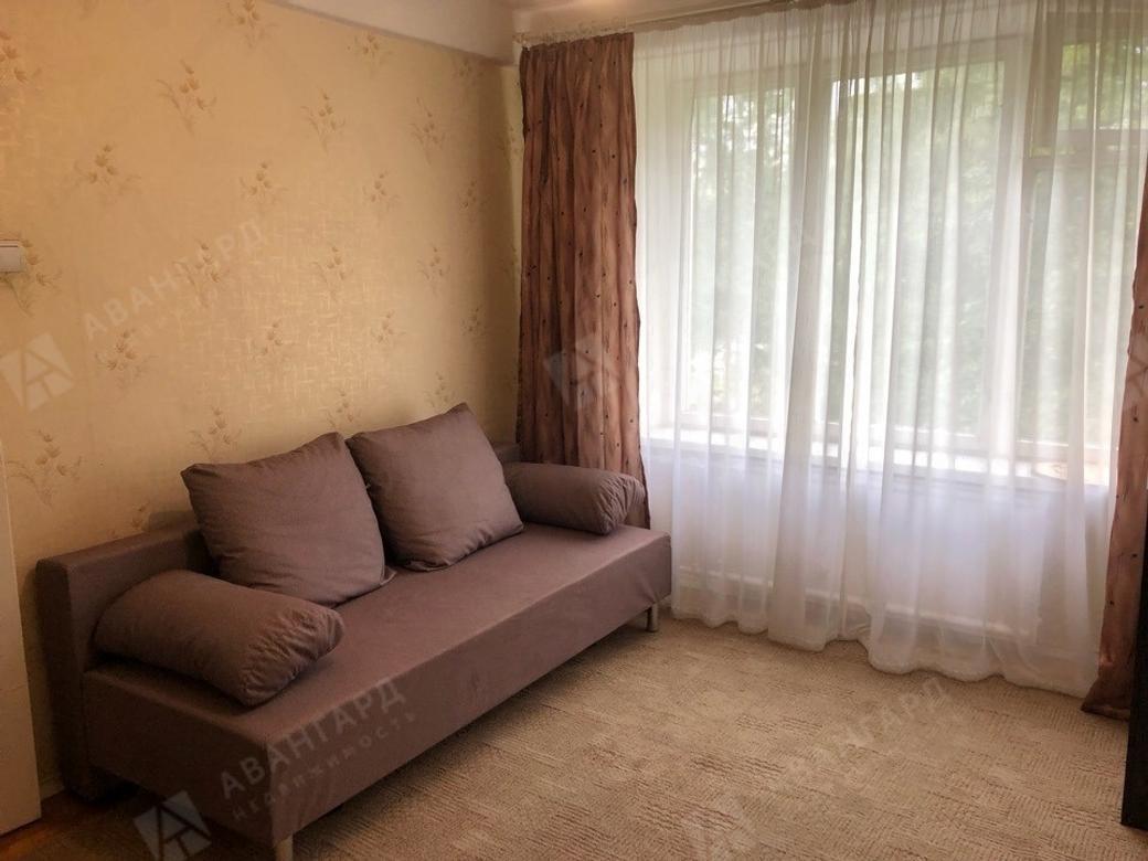 1-комнатная квартира, Вавиловых ул, 4к1 - фото 1