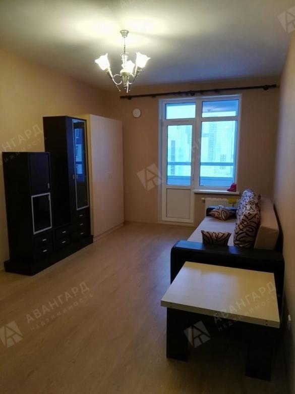 1-комнатная квартира, Арцеуловская аллея, 23к1 - фото 1