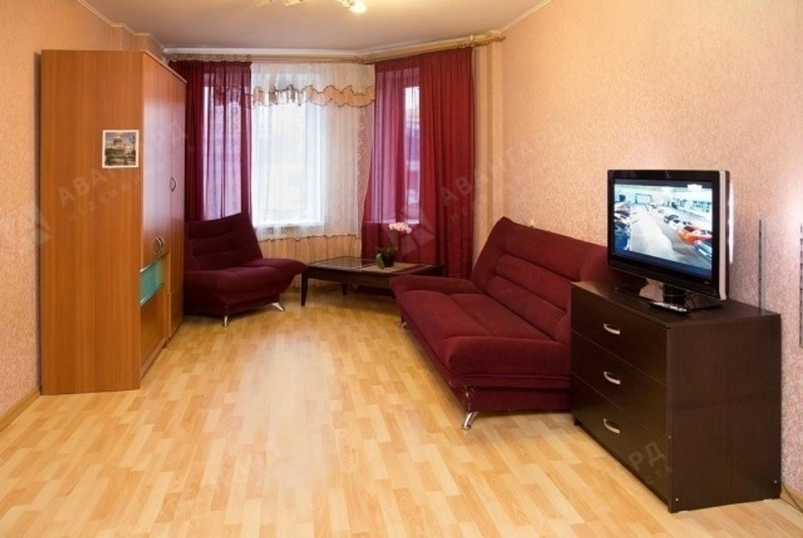 1-комнатная квартира, Туристская ул, 10к1 - фото 1