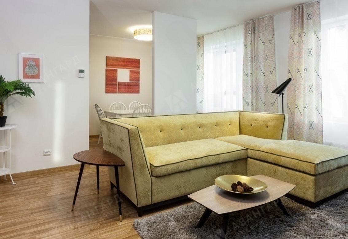 3-комнатная квартира, Реки Смоленки наб, 35 - фото 1