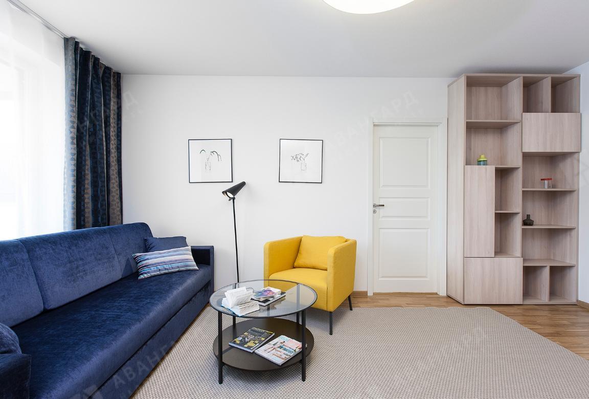 2-комнатная квартира, Реки Смоленки наб, 35 - фото 2