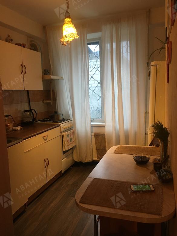 1-комнатная квартира, Краснопутиловская ул, 52 - фото 1