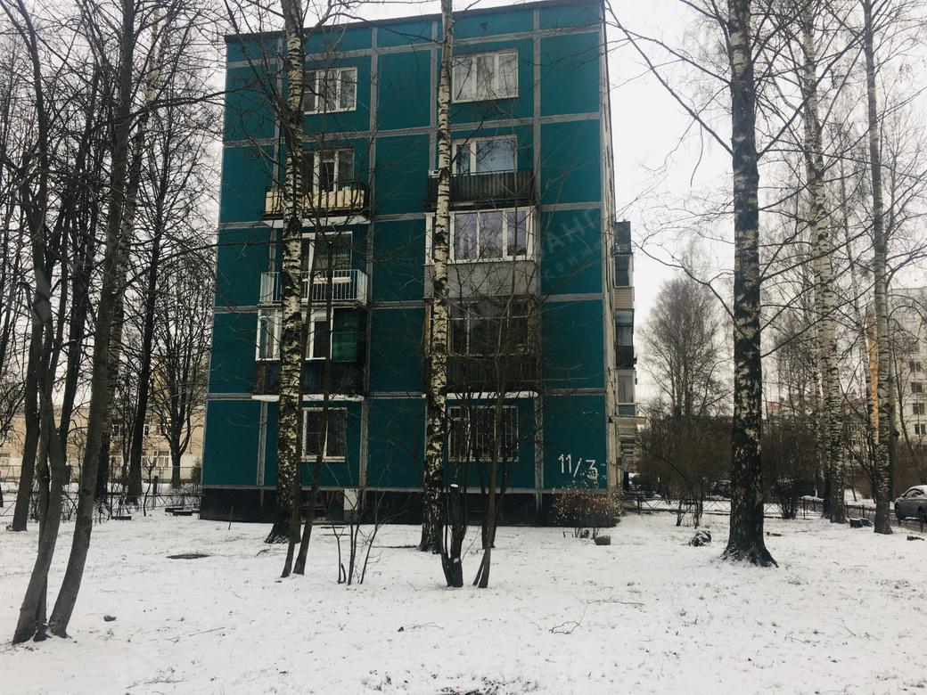 1-комнатная квартира, Вавиловых ул, 11 к3 - фото 2