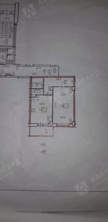 1-комнатная квартира, Гжатская ул, 22к3 - фото 8