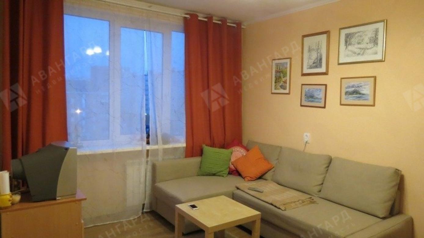 1-комнатная квартира, Луначарского пр-кт, 7к1 - фото 1