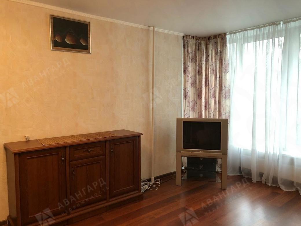 1-комнатная квартира, Кораблестроителей ул, 16к1 - фото 2