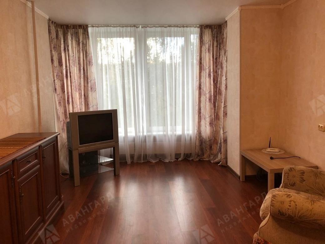 1-комнатная квартира, Кораблестроителей ул, 16к1 - фото 1