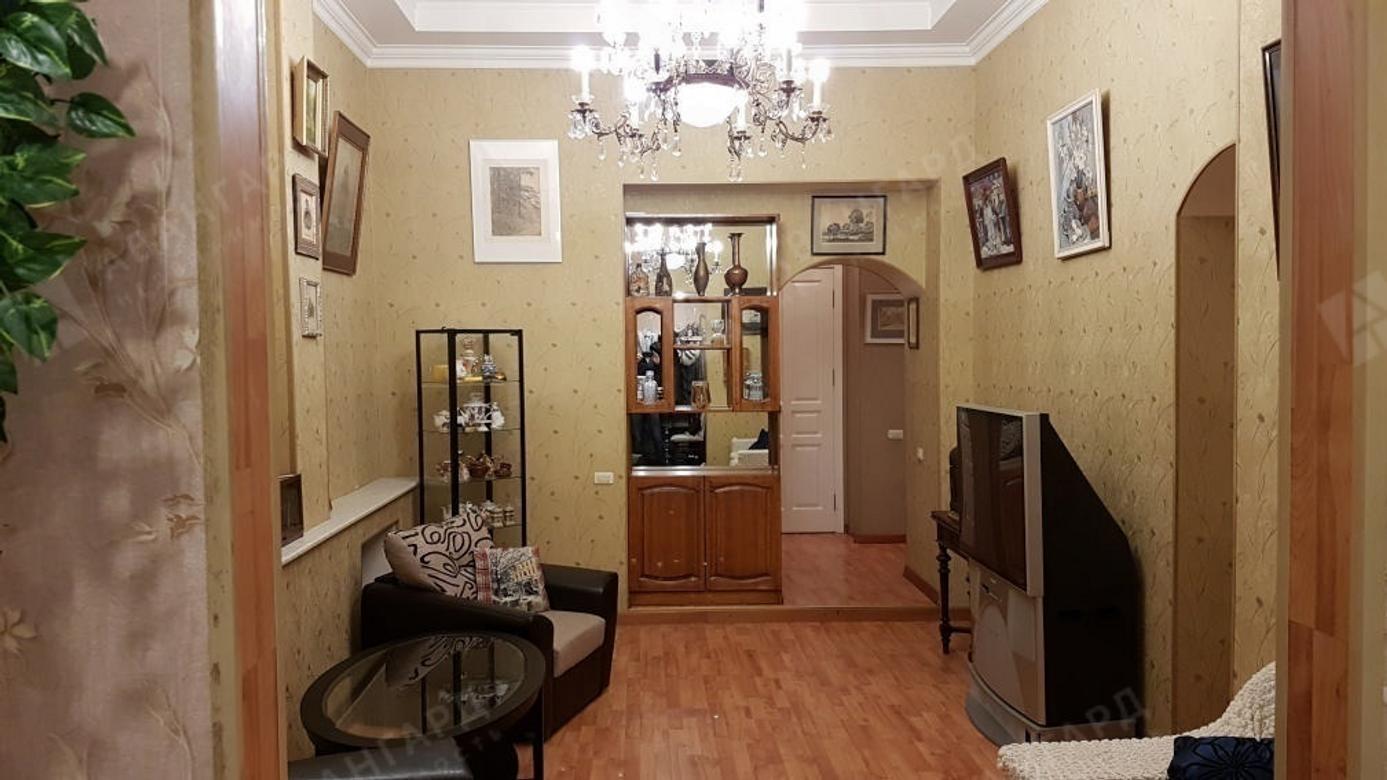 3-комнатная квартира, Большой В.О. пр-кт, 22 - фото 1