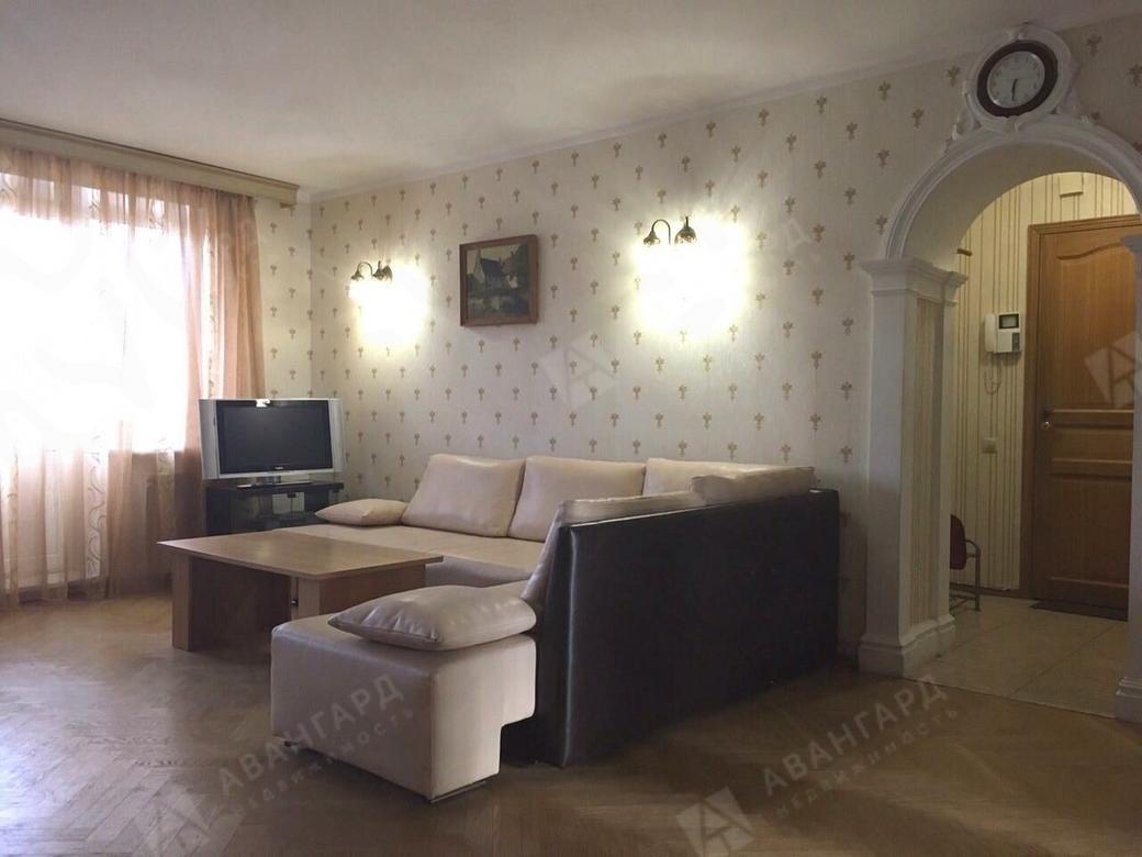 3-комнатная квартира, Морская наб, 17 - фото 1