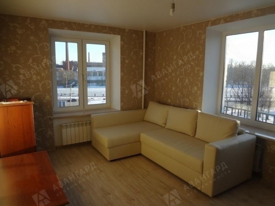 1-комнатная квартира, Двинская ул, 4 - фото 2