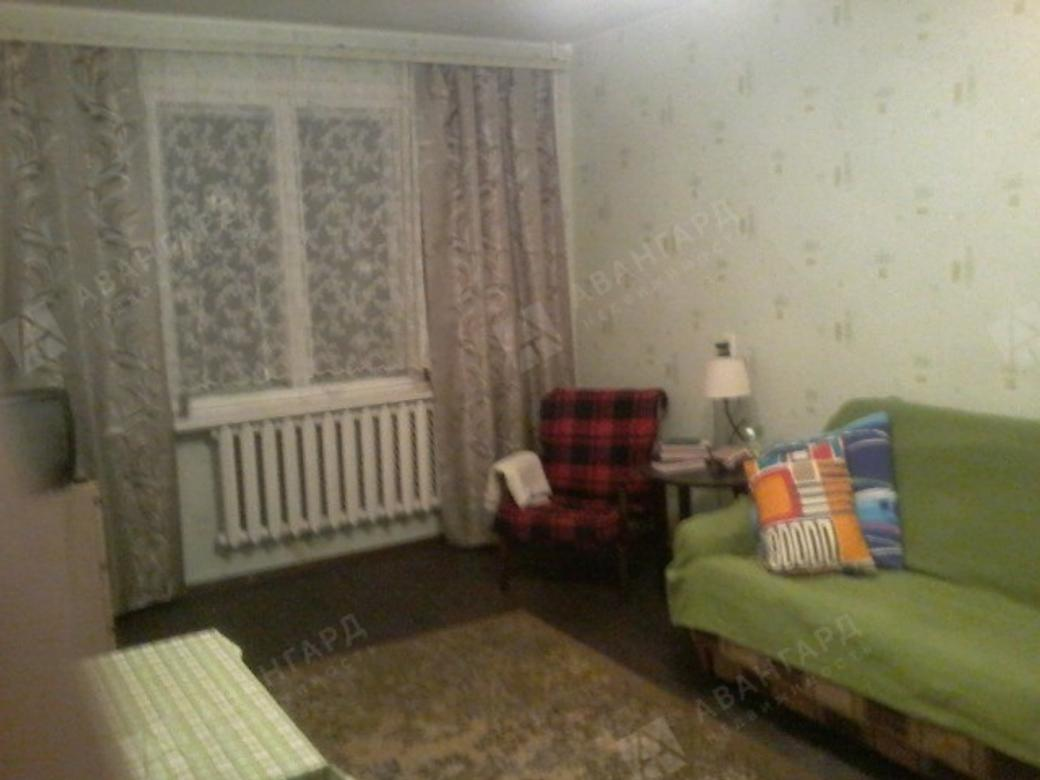 1-комнатная квартира, Серебристый б-р, 5к1 - фото 1