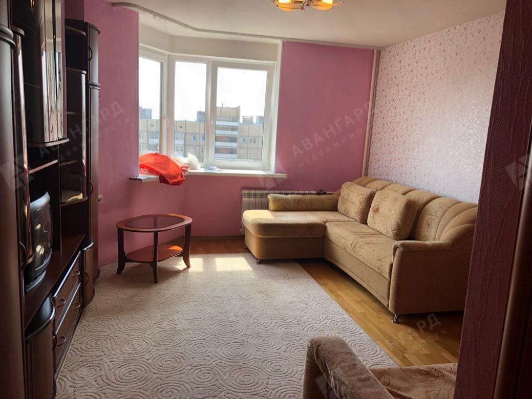 1-комнатная квартира, Просвещения пр-кт, 76к1 - фото 1