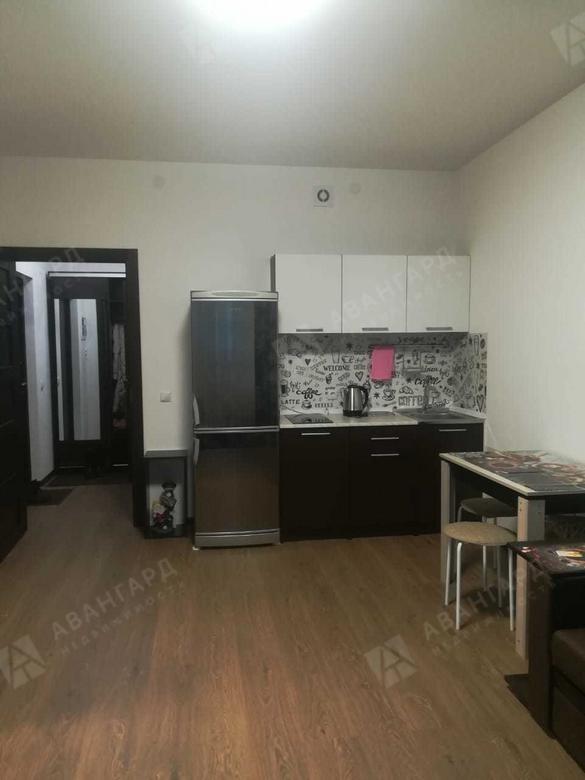 1-комнатная квартира, Арцеуловская аллея, 23 к1 - фото 2
