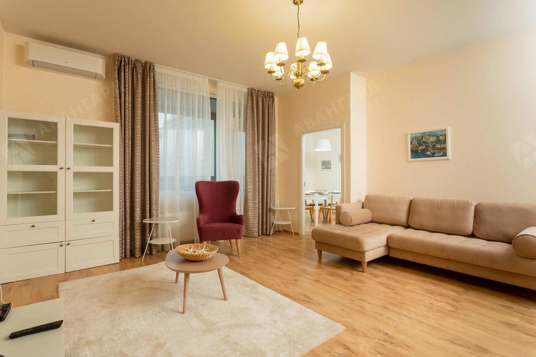 3-комнатная квартира, Барочная ул, 12 - фото 1