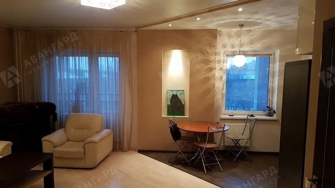 2-комнатная квартира, Варшавская ул, 19к5 - фото 1