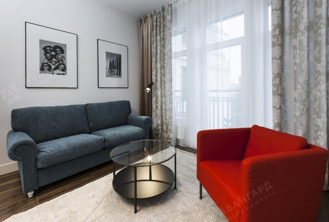 2-комнатная квартира, 11-я В.О. линия, 26 - фото 1