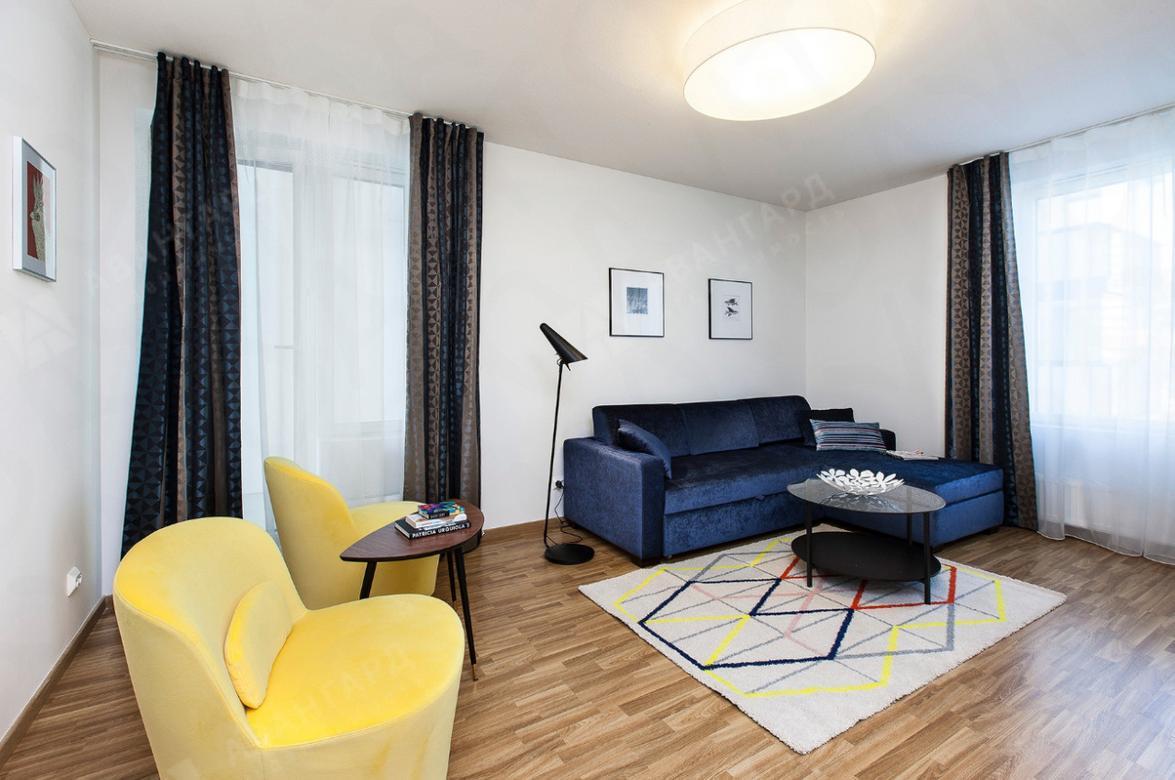3-комнатная квартира, Реки Смоленки наб, 35к1 - фото 1