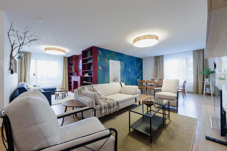 4-комнатная квартира, Реки Смоленки наб, 35 - фото 1