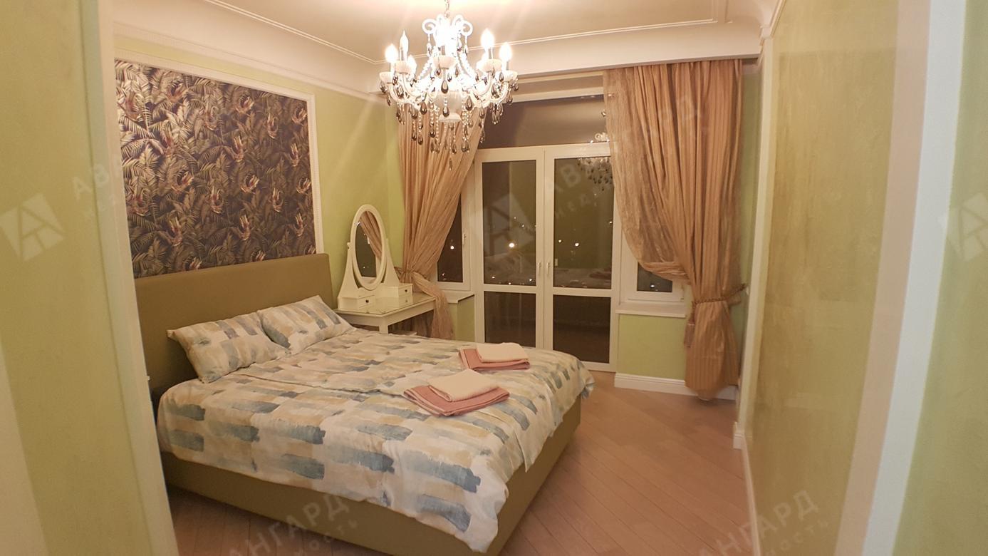 2-комнатная квартира, Чёрной речки наб, 10 - фото 1