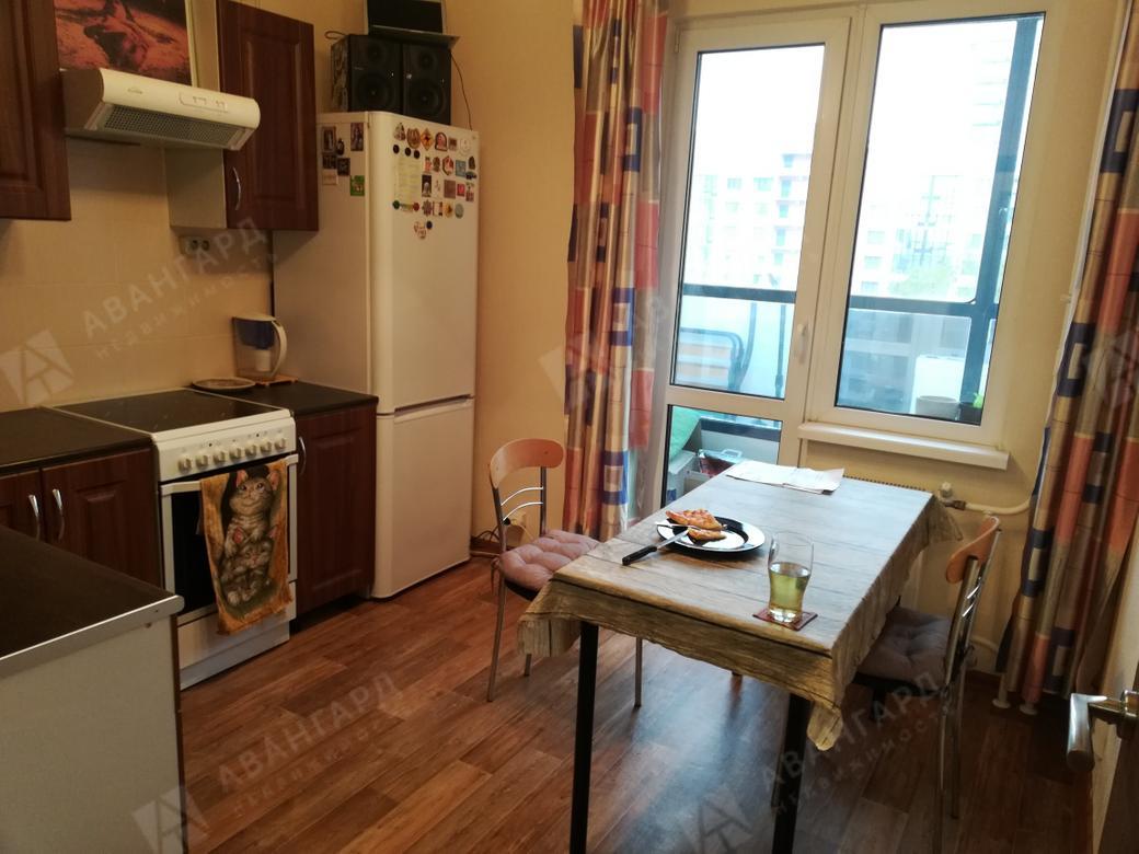 1-комнатная квартира, Кушелевская дор, 3к2 - фото 2