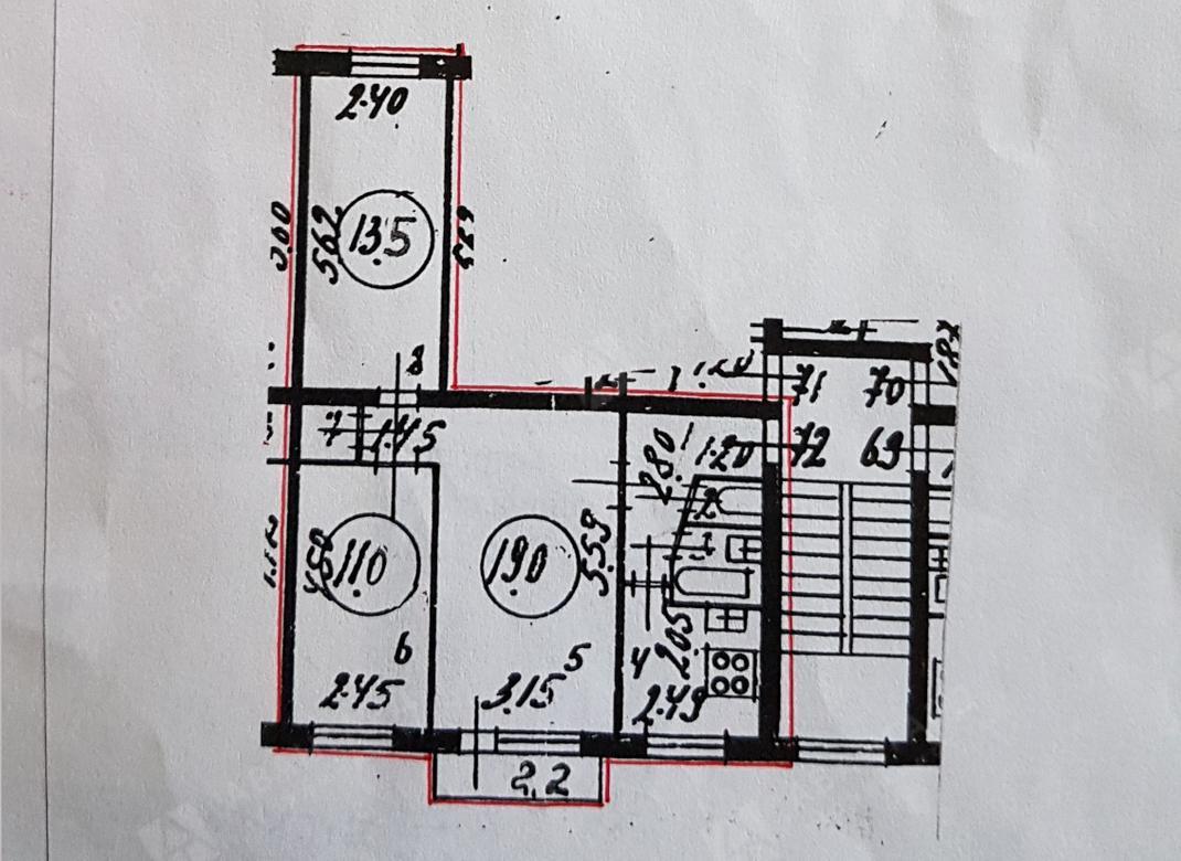 3-комнатная квартира, Белградская ул, 6к3 - фото 13