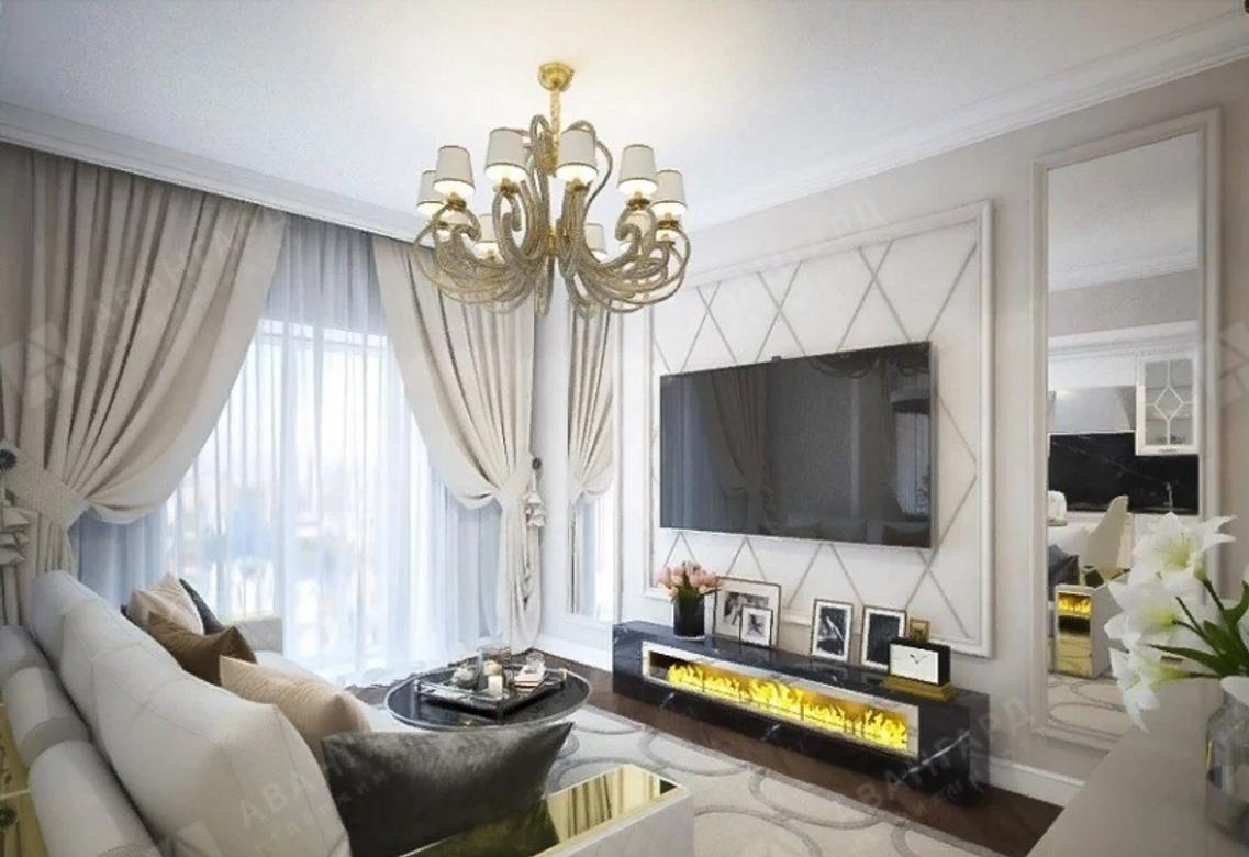2-комнатная квартира, Малая Зеленина ул, 1к22 - фото 1