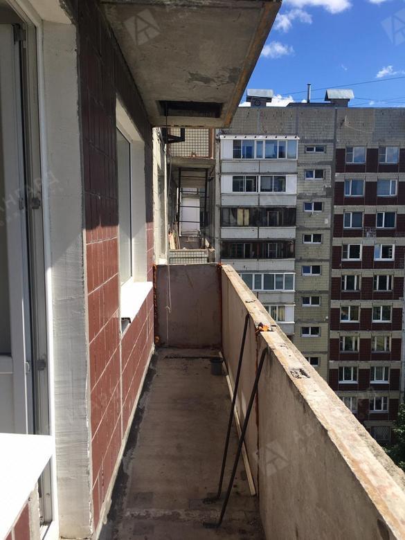 1-комнатная квартира, Щербакова ул, 4к18 - фото 11