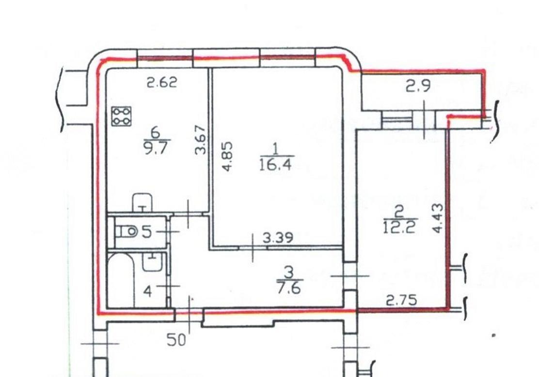 2-комнатная квартира, Невская ул, 9 - фото 17