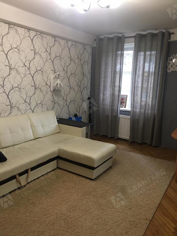 2-комнатная квартира, Краснопутиловская ул, 72 - фото 1
