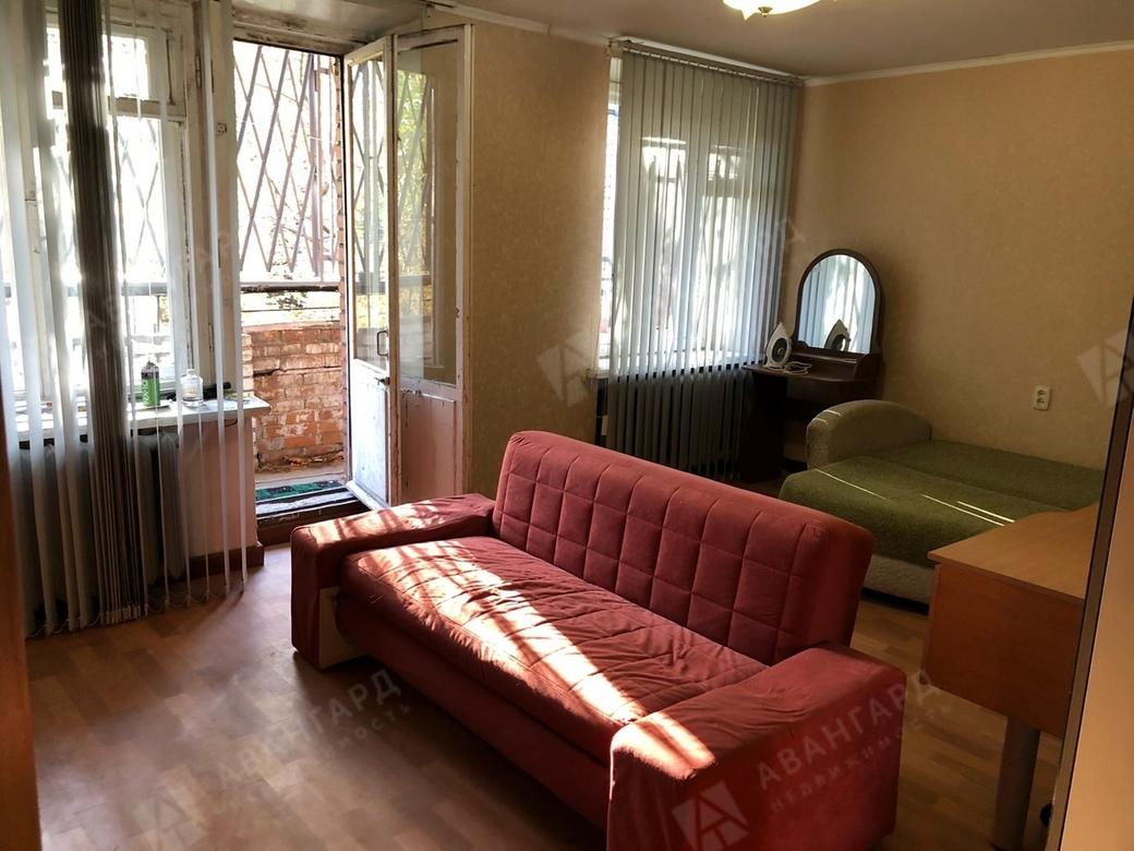 1-комнатная квартира, Орбели ул, 23 к2 - фото 2