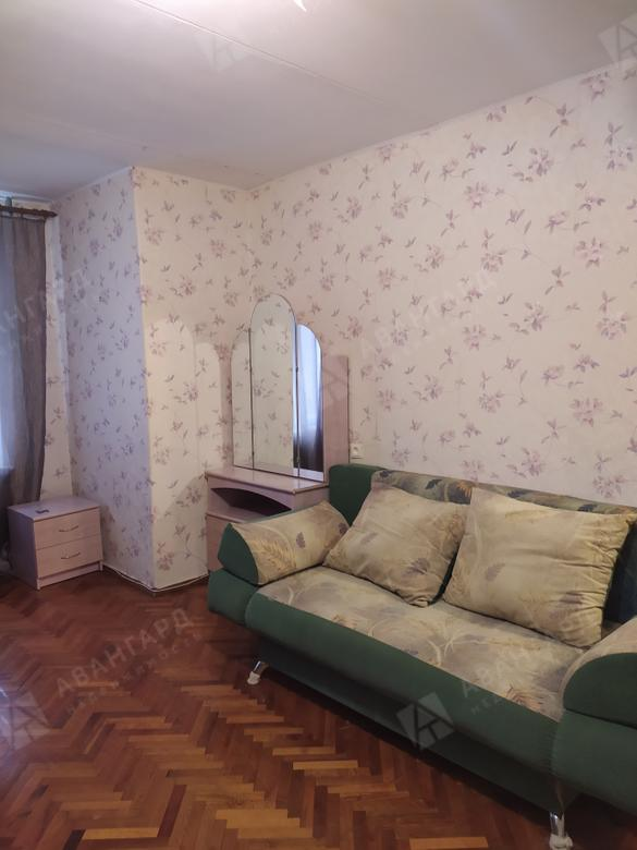 1-комнатная квартира, Большевиков пр-кт, 9 к1 - фото 2