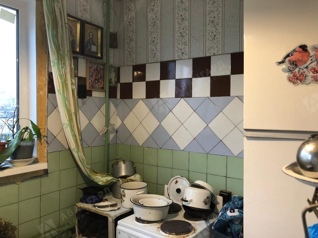 1-комнатная квартира, Кустодиева ул, 10 к1 - фото 2