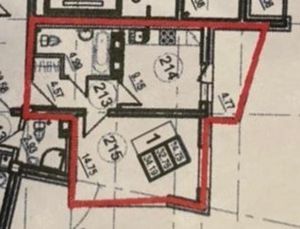 1-комнатная квартира, Героев пр-кт, 18 - фото 15